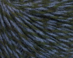 Fiber Content 50% Merino Wool, 25% Alpaca, 25% Acrylic, Lavender, Brand Ice Yarns, Dark Green, fnt2-52216