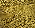 Fiber Content 100% Micro Fiber, Brand YarnArt, Olive Green, Yarn Thickness 0 Lace  Fingering Crochet Thread, fnt2-52262