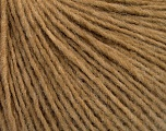 Fiber Content 50% Acrylic, 50% Wool, Light Brown, Brand ICE, Yarn Thickness 3 Light  DK, Light, Worsted, fnt2-52307