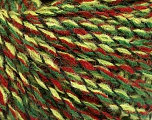 Fiber Content 50% Acrylic, 50% Wool, Red, Brand Ice Yarns, Green Shades, Black, fnt2-52329