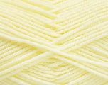 Worsted  Fasergehalt 100% Acryl, Lemon Yellow, Brand Ice Yarns, Yarn Thickness 4 Medium  Worsted, Afghan, Aran, fnt2-52729