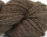Yarn is hand sheered and all natural undyed wool. Fiber Content 100% Natural Undyed Wool, Brand Ice Yarns, Brown, Yarn Thickness 4 Medium  Worsted, Afghan, Aran, fnt2-52772