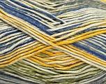 Fasergehalt 50% Acryl, 50% Baumwolle, Yellow, Brand Ice Yarns, Green, Cream, Blue, Yarn Thickness 2 Fine  Sport, Baby, fnt2-52919