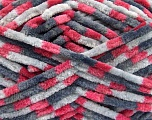 Fiber Content 100% Micro Fiber, Pink, Brand Ice Yarns, Grey Shades, Yarn Thickness 4 Medium  Worsted, Afghan, Aran, fnt2-53109