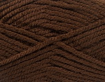 Fiber Content 100% Acrylic, Brand Ice Yarns, Dark Brown, fnt2-53171