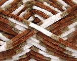Fiberinnehåll 100% mikrofiber, White, Brand Ice Yarns, Camel, Brown, fnt2-53330