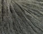 Kuitupitoisuus 30% Polymidi, 25% Mohair, 20% Villa, 15% Akryyli, 10% Metallinen Lurex, Brand Ice Yarns, Dark Grey, fnt2-53357
