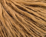 Fiber Content 60% Wool, 40% Acrylic, Light Brown, Brand Ice Yarns, fnt2-53359