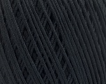 Fiber Content 66% Cotton, 34% Polyamide, Brand Ice Yarns, Black, Yarn Thickness 3 Light  DK, Light, Worsted, fnt2-53432