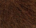Fiber Content 29% Alpaca Superfine, 28% Merino Wool, 21% Polyamide, 20% Acrylic, 2% Elastan, Brand Ice Yarns, Dark Brown, fnt2-53449