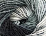 Fiber Content 100% Acrylic, Brand Ice Yarns, Grey Shades, fnt2-53529