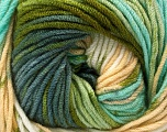 Fiber Content 100% Acrylic, White, Brand ICE, Grey, Green Shades, Camel, Yarn Thickness 4 Medium  Worsted, Afghan, Aran, fnt2-53531