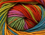Fiber Content 100% Acrylic, Orange, Navy, Lilac, Brand Ice Yarns, Green, Gold, Yarn Thickness 4 Medium  Worsted, Afghan, Aran, fnt2-53535