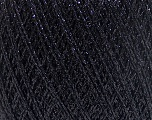 Fiber Content 100% Metallic Lurex, Brand Ice Yarns, Black, fnt2-53539