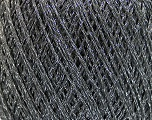 Fiber Content 75% Polyester, 25% Lurex, Brand Ice Yarns, Grey, fnt2-53545