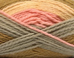 Fiber Content 70% Acrylic, 30% Wool, Pink, Olive Green, Light Yellow, Brand Ice Yarns, Grey, fnt2-53553