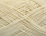 Fiber Content 60% Acrylic, 40% Cotton, Brand Ice Yarns, Cream, fnt2-53587