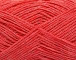 Fiber Content 70% Cotton, 30% Polyamide, Salmon, Brand Ice Yarns, fnt2-53592