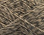 Fiber Content 60% Acrylic, 40% Wool, Brand ICE, Black, Beige, fnt2-53595