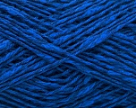 Fiber Content 60% Cotton, 40% Linen, Brand Ice Yarns, Blue, fnt2-53659