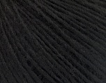 Fiber Content 50% Acrylic, 50% Wool, Brand ICE, Black, Yarn Thickness 3 Light  DK, Light, Worsted, fnt2-53679