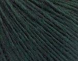 Fiber Content 50% Acrylic, 50% Wool, Brand ICE, Dark Green, Yarn Thickness 3 Light  DK, Light, Worsted, fnt2-53681