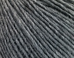 Fiber Content 50% Acrylic, 50% Wool, Brand ICE, Grey Melange, Yarn Thickness 3 Light  DK, Light, Worsted, fnt2-53685