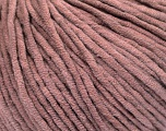 Fiberinnhold 60% Bomull, 40% Akryl, Rose Brown, Brand Ice Yarns, fnt2-53692