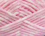 Fiber Content 100% Micro Fiber, White, Light Pink, Brand Ice Yarns, fnt2-53700