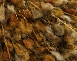 Fiber Content 50% Wool, 30% Acrylic, 20% Polyamide, Brand Ice Yarns, Brown Shades, fnt2-53744