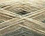 Fiberinnhold 70% Akryl, 30% Ull, Khaki, Brand Ice Yarns, Beige Shades, fnt2-53766
