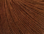 Fiber Content 50% Merino Wool, 25% Alpaca, 25% Acrylic, Brand ICE, Brown, Yarn Thickness 2 Fine  Sport, Baby, fnt2-53813