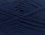 Worsted  Fiber Content 100% Acrylic, Navy, Brand Ice Yarns, Yarn Thickness 4 Medium  Worsted, Afghan, Aran, fnt2-53828