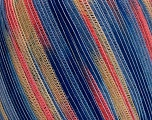 Fiber Content 62% Acrylic, 38% Polyamide, Salmon, Brand Ice Yarns, Blue Shades, Beige, fnt2-53832