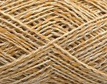 Fiber Content 60% Wool, 20% Acrylic, 20% Polyamide, Brand Ice Yarns, Gold, Beige, fnt2-53840