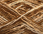 Fiber Content 50% Acrylic, 40% Wool, 10% Polyamide, Brand Ice Yarns, Brown Shades, fnt2-53842