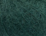 Knitted as 4 ply Fiber Content 40% Polyamide, 30% Kid Mohair, 30% Acrylic, Brand Ice Yarns, Dark Green, Yarn Thickness 1 SuperFine  Sock, Fingering, Baby, fnt2-53885