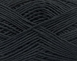 Fiber Content 100% Cotton, Brand Ice Yarns, Anthracite Black, fnt2-53903