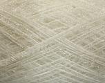 Fiber Content 65% Polyester, 35% Lurex, White, Brand Ice Yarns, fnt2-53924