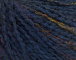 Fiber Content 53% Acrylic, 35% Wool, 12% Polyamide, Navy, Brand Ice Yarns, fnt2-53935