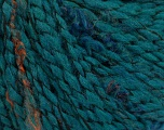 Fiber Content 53% Acrylic, 35% Wool, 12% Polyamide, Turquoise, Brand Ice Yarns, fnt2-53936