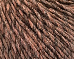 Fiber Content 50% Acrylic, 50% Wool, Salmon, Brand ICE, Camel, Brown, Yarn Thickness 4 Medium  Worsted, Afghan, Aran, fnt2-53957