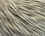 Fiber Content 50% Wool, 50% Acrylic, Brand Ice Yarns, Grey, Cream, fnt2-53959
