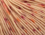 Fiber Content 100% Wool, Purple, Orange, Light Orange, Brand Ice Yarns, fnt2-53979