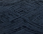 Fiber Content 100% Polyester, Navy, Brand ICE, Yarn Thickness 1 SuperFine  Sock, Fingering, Baby, fnt2-54002