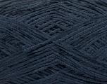 Fiber Content 100% Polyester, Navy, Brand Ice Yarns, Yarn Thickness 1 SuperFine  Sock, Fingering, Baby, fnt2-54002