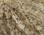 Fiber Content 30% Polyamide, 30% Acrylic, 25% Mohair, 15% Wool, Brand Ice Yarns, Beige Melange, fnt2-54012
