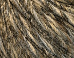 Fiber Content 60% Acrylic, 40% Wool, Brand Ice Yarns, Green Shades, Brown Shades, fnt2-54020