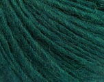 Fiber Content 50% Wool, 50% Acrylic, Brand ICE, Emerald Green, Yarn Thickness 5 Bulky  Chunky, Craft, Rug, fnt2-54035
