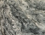 Fiber Content 30% Polyamide, 30% Acrylic, 25% Mohair, 15% Wool, Brand Ice Yarns, Grey Shades, fnt2-54039